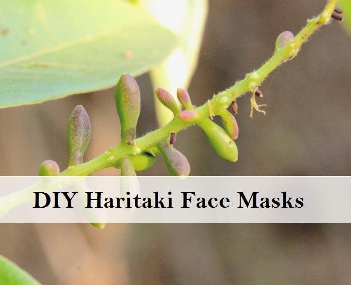 DIY Haritaki Face Mask