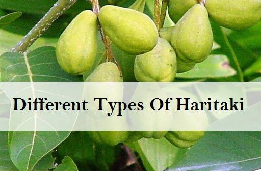 Different Types Of Haritaki