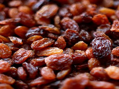 Brown Raisins with Seeds